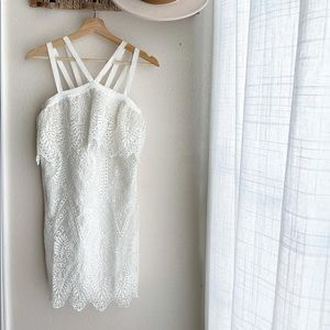 Likely Abergreen Dress in White